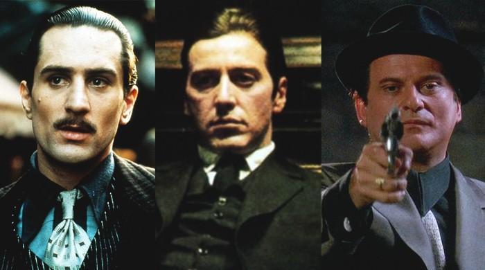 ecbbdb73 The Godfather' Cast Discuss Al Pacino's Height and Marlon Brando's 'Balls'  at Tribeca Reunion