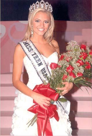 Katie Blair Miss Montana Teen USA 2006 art lover